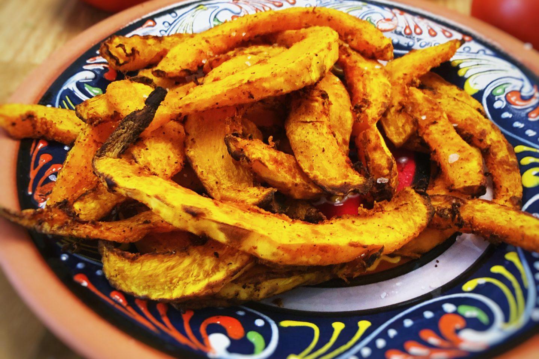 Hokkaido pumpkin fries