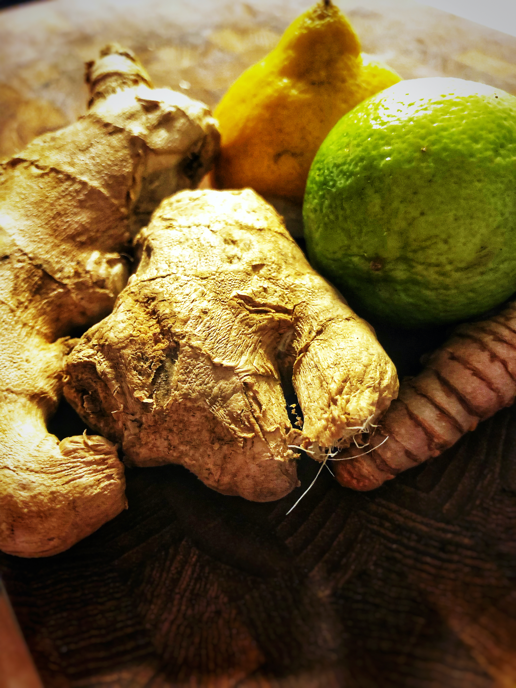 Ginger, Turmeric and Lime