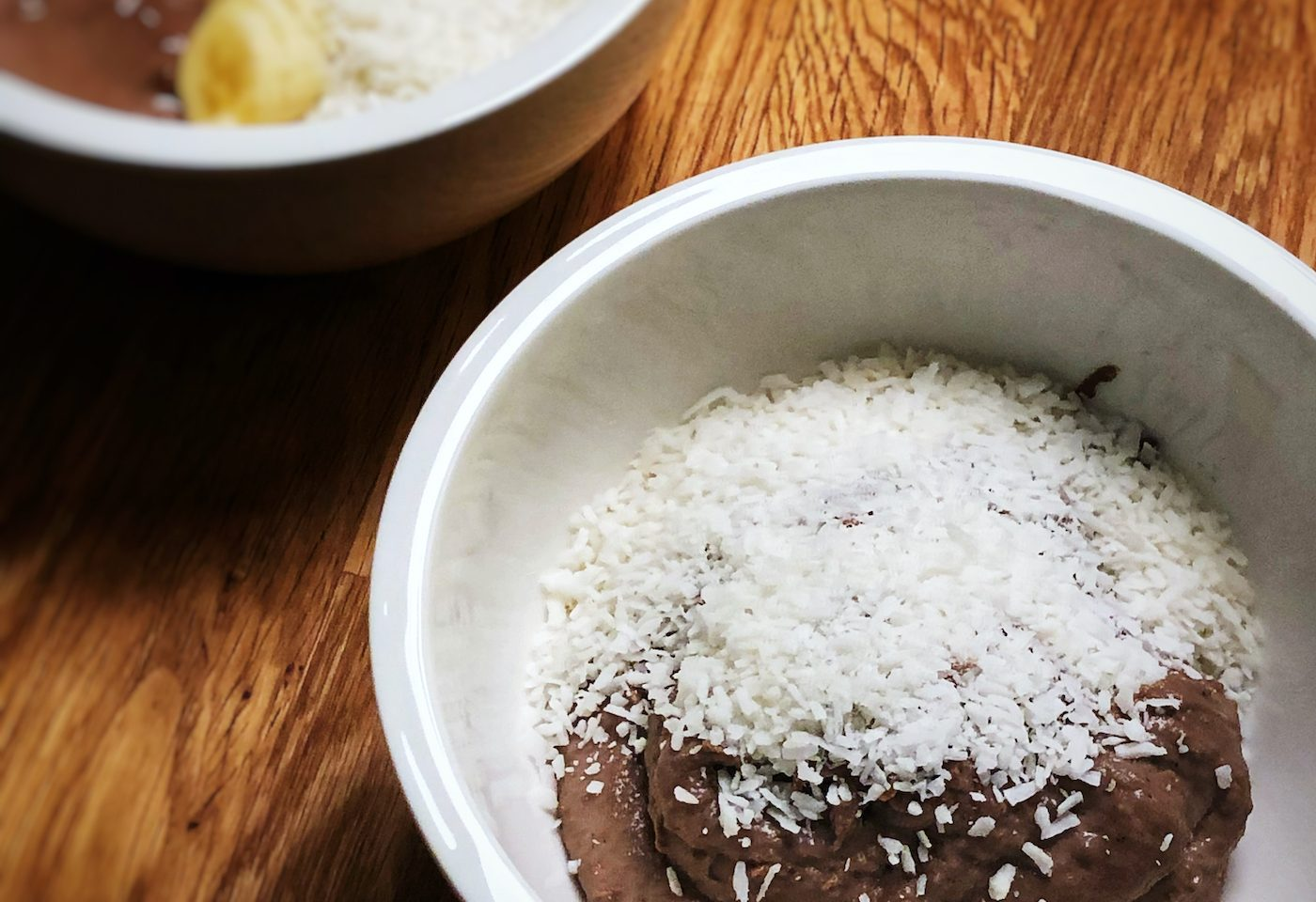chocolate and casein pudding