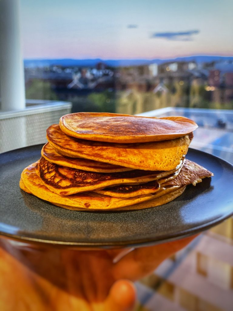 Pancakes - a day eating on RP diet