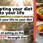 Adapting your diet - A day on RP strength