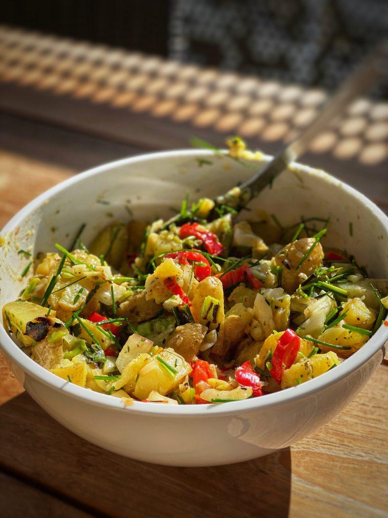 Barbeque Potato Salad