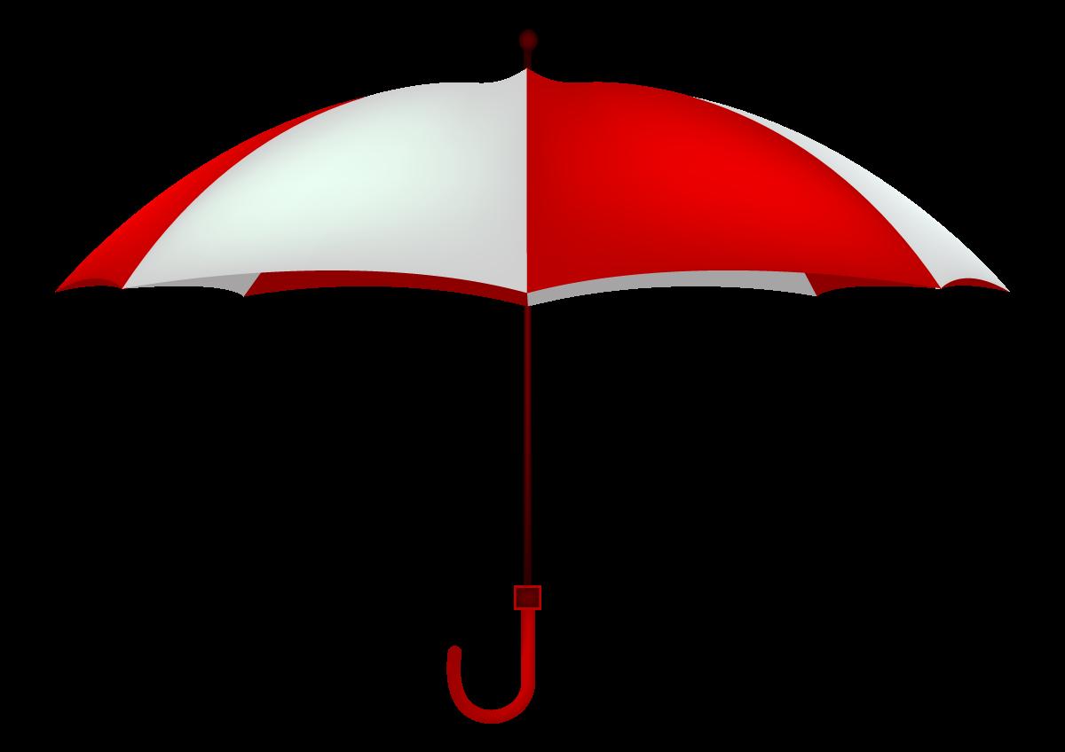 Stregtegning af en paraply