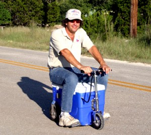 wird gadgets, gadgets, gadget news. Beer scooter with cooling compartment, lol