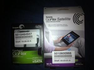 seaget wireless hardrive western digital WD caviar go flex package gadgetzz