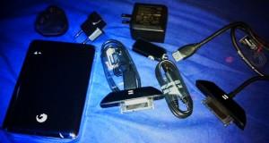 Go-flex satellite wirh e-sata array