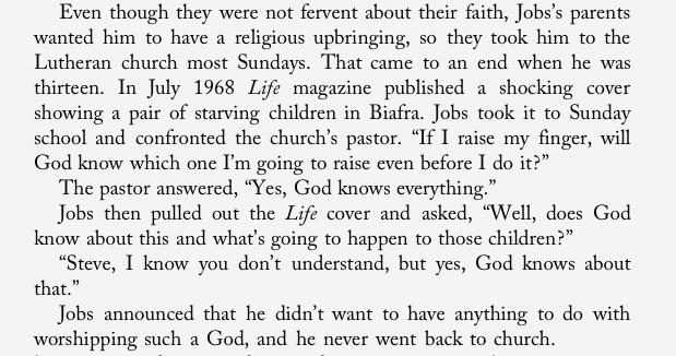 13year old steve jobs owning church