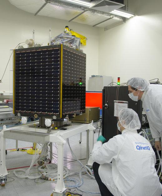 PROBA - V Final test in Qinetiq facility