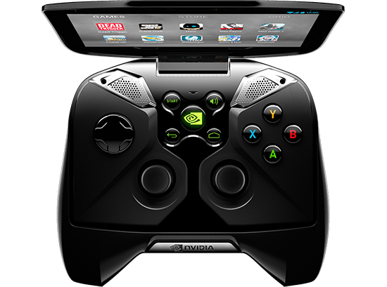 nvidia portable gaming device cosnole