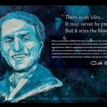 Sagan quotes poster