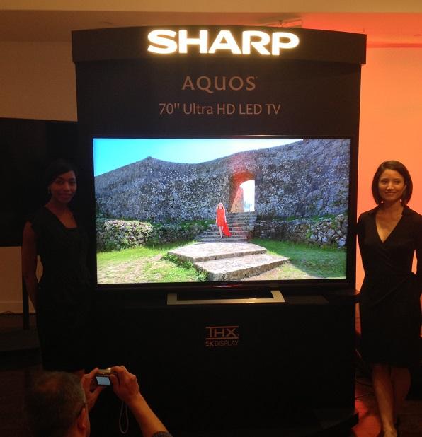 "sharp aquos 70"" thx 4k tv"