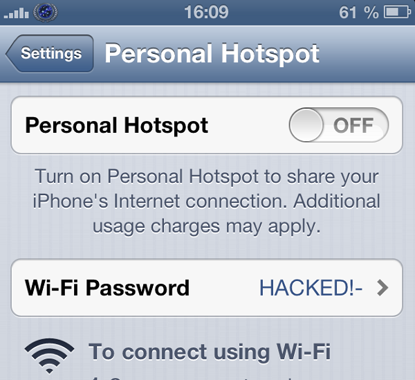 apple random generated password for tehering security hole, hacked