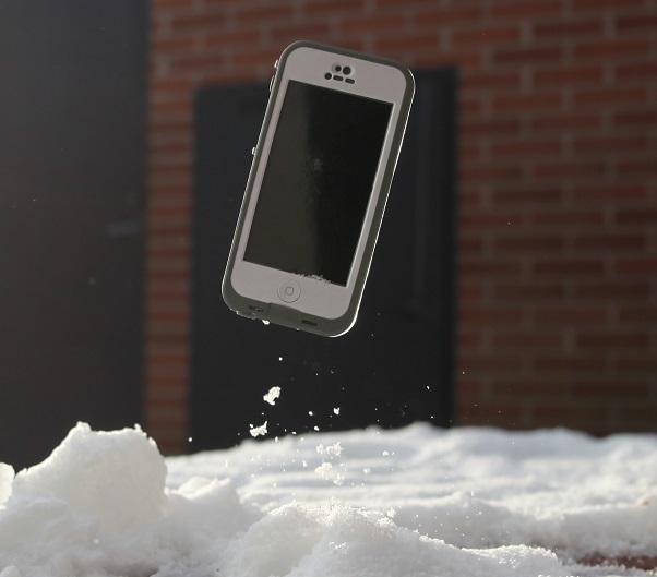 Lifeproof white iphone 5 snow drop