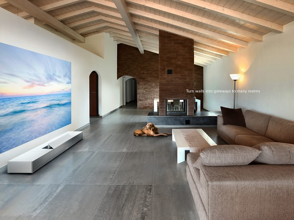 CES Sony 4k short throw projector
