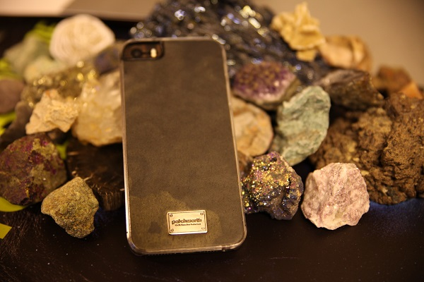 iphone case made of real stone patchworks