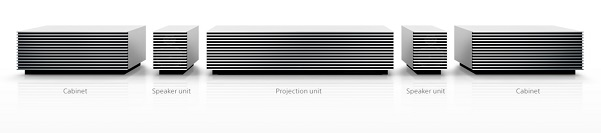 Sony 4k short throw projector