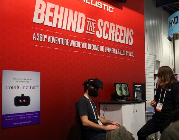 ballistic oculus rift 360 experience ces