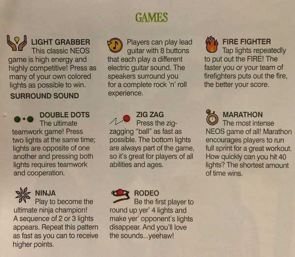 game types neos