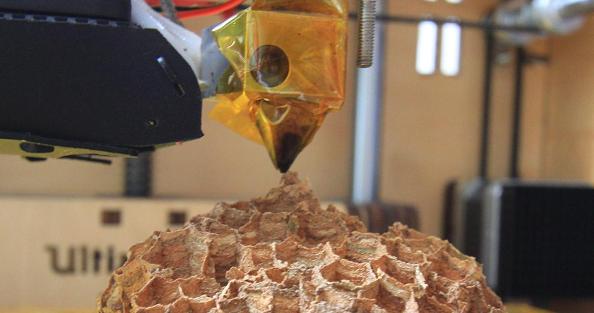 nasa 3d printing wood