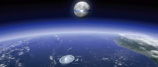 saolar cells on the moon japan