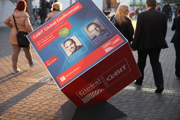 CeBIT 2014 cube