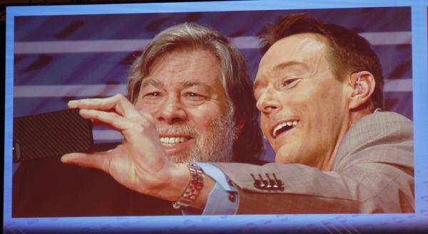 Steve Wozniak Selfe CeBIT 2014