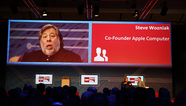 Steve Wozniak at CeBIT