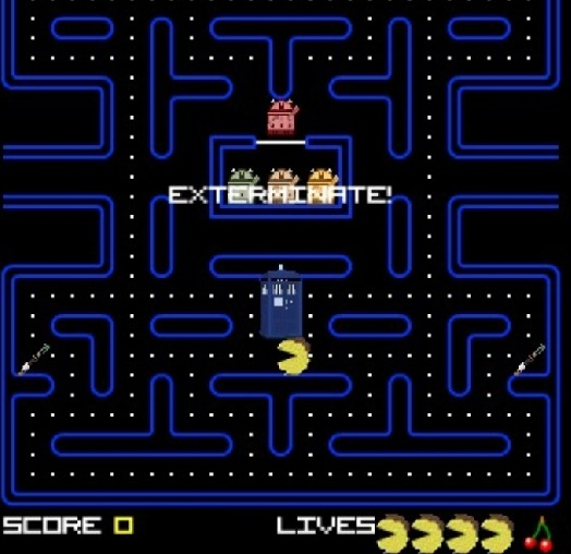 pacman doctor who
