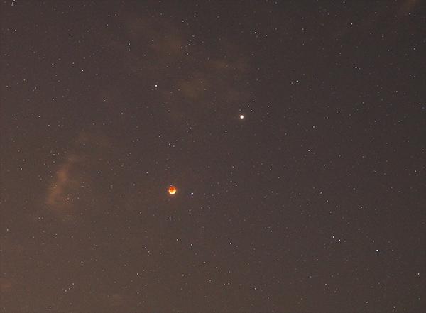 lunar eclipse mars april 2014