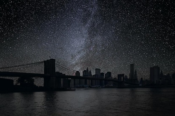 new york without light pollution