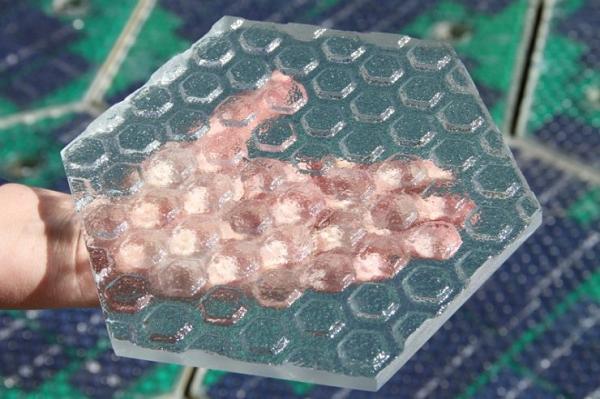 solar cell road