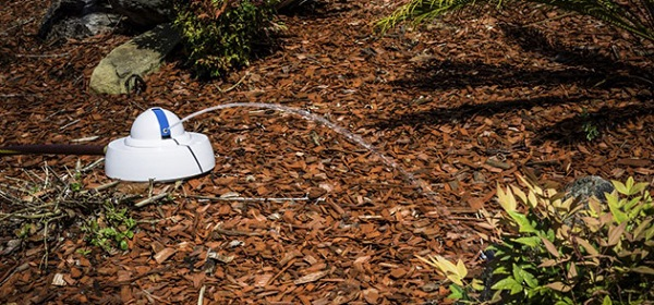 droplet sprinkler robot