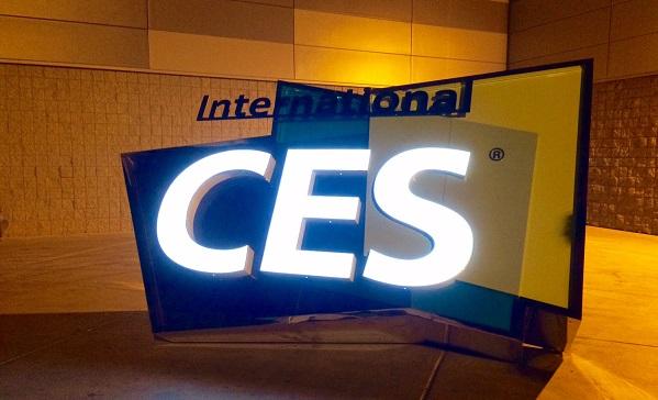 CES logo sculpture 2015