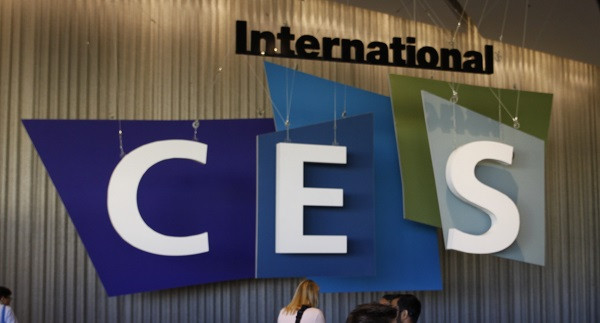 International ces 2015 logo sculpture