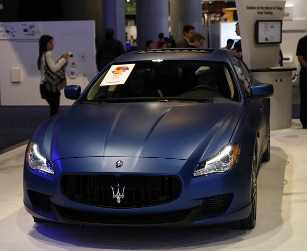 Maserati CES 2015