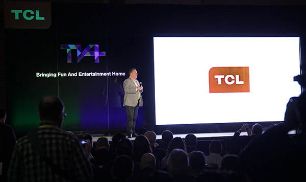 TCL press conference ces 2015