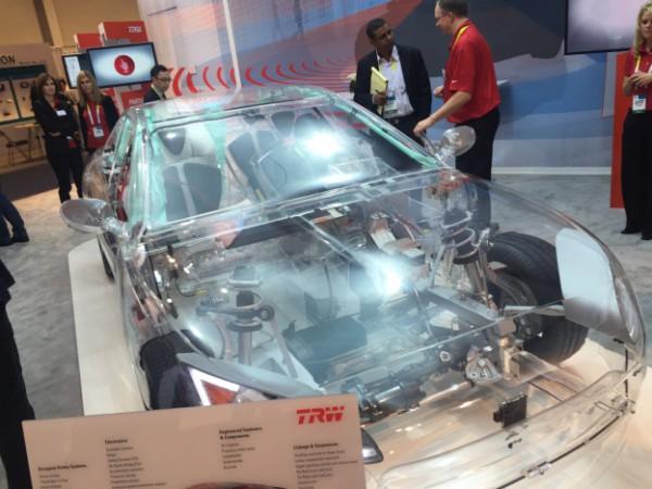 TRW see through car