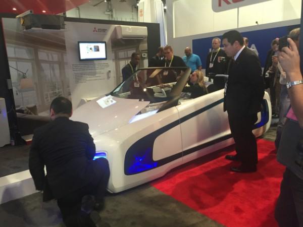 Mitsubishi 'Car of the future'