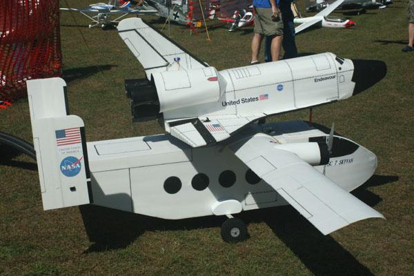 model space shuttle carrier