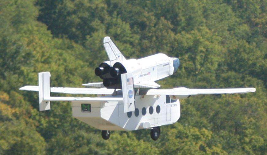 model shuttle rc