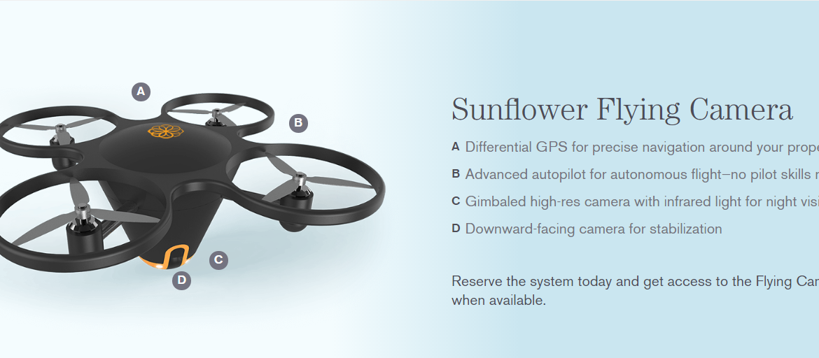sunflower-flying-camera-drone-surveilance-alarm-system