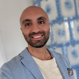 Yashar Moradbakhti, VD för Lingio