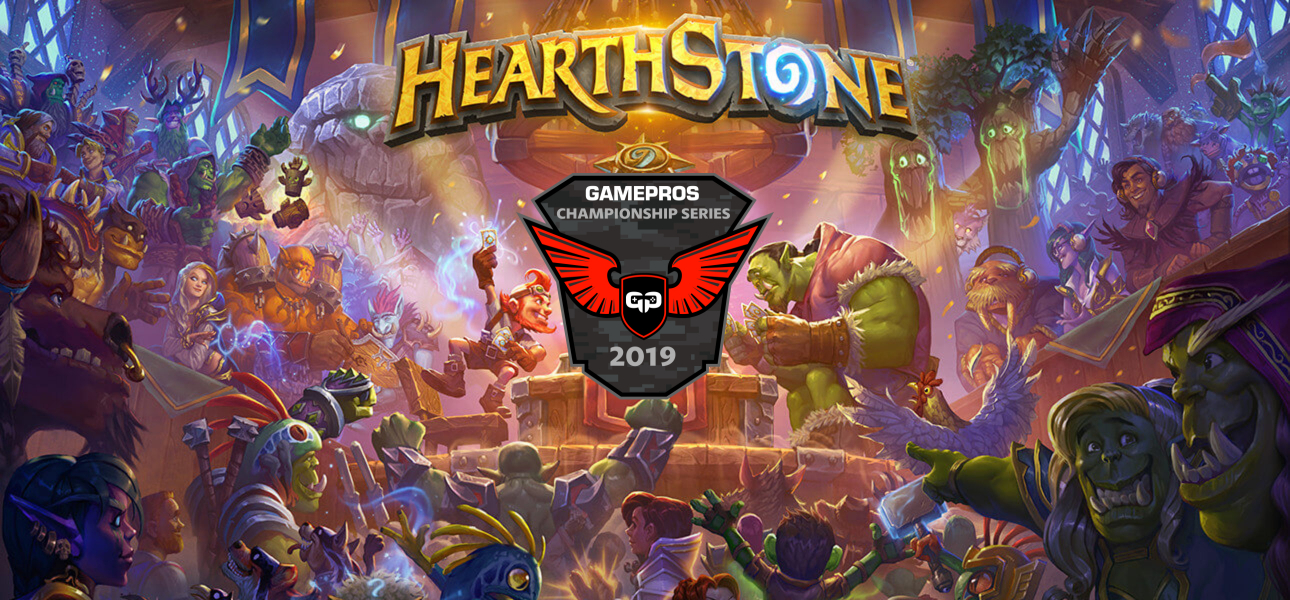 GamePros Hearthstone Championship Series 2019 Banner