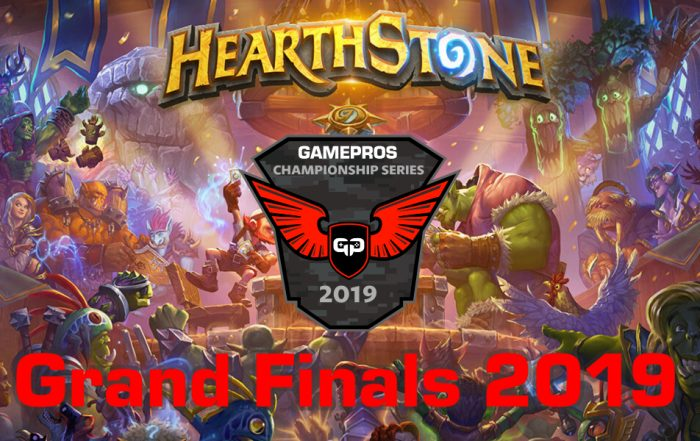 Grand Finals GamePros Hearthstone Championship Series 2019