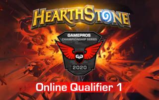 GamePros Hearthstone Championship Series 2020 - Online Qualifier 1 dark