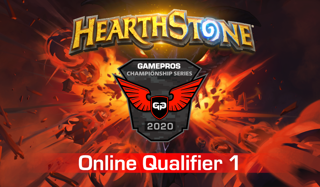 GamePros Hearthstone Championship Series 2020 - Online Qualifier 1 dark