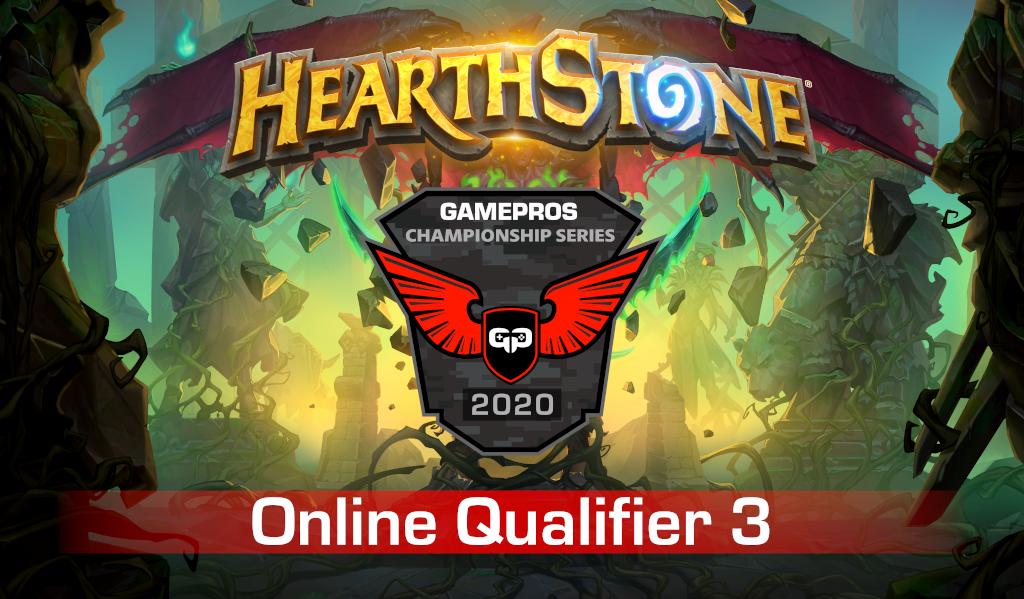 GamePros Hearthstone Championship Series 2020 - Online Qualifier 3