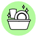opvask tørre plastkrus