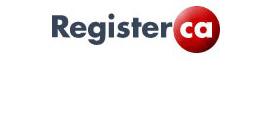 registrar logo  registerca