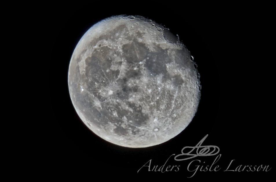 86/365, Månen, Assentoft, Randers